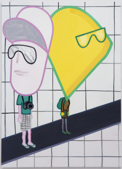 Marcus Weber – C&A - Ben & Jessica, 2013. Oil on Canvas, 63 x 45.25 in.