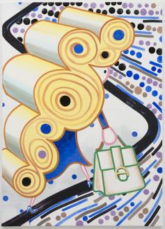 Marcus Weber – C&A - Carol, 2019. Oil on Canvas, 63 x 45.25 in.