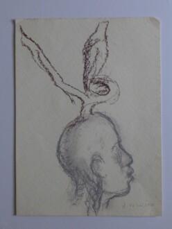 Middle European Mysticism - Jitka Válová, <i>Untitled</i>, 2010, 40 x 30 cm.