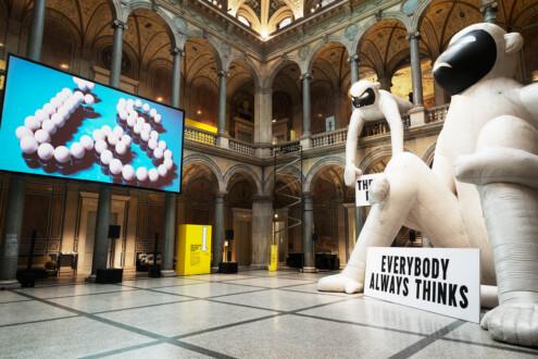 The Happy Show - Installation view, MAK, Vienna.