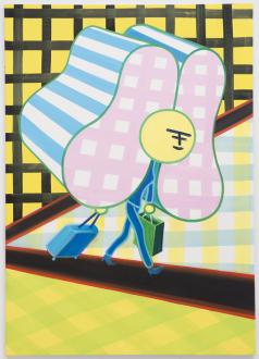 Marcus Weber – C&A - Nina, 2013. Oil on Canvas, 61 x 43 in.