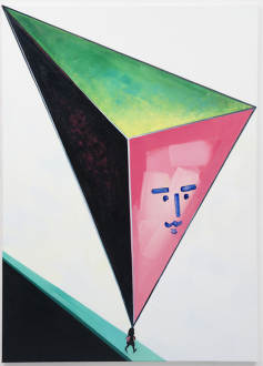 Marcus Weber – C&A - Suza, 2018. Oil on Canvas, 61 x 43 in
