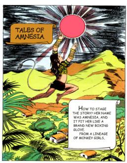 Tales of Amnesia - <i>Cover</i> (panel 1, <i>Tales of Amnesia</i>), 2002/07. Digital C-print, 18 x 14 in.