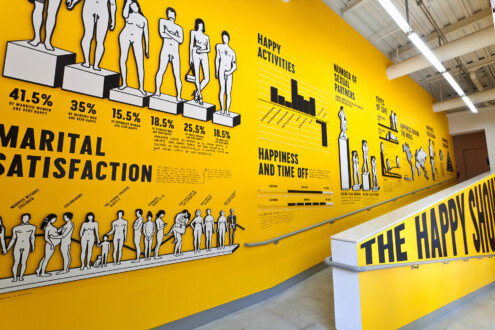 The Happy Show - Installation view, the Institute of Contemporary Art, Philadelphia.