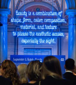 The Beauty Show - MAK Exhibition View, 2018.