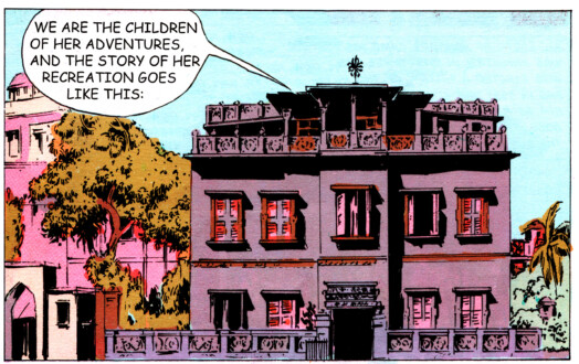 Tales of Amnesia - <i>We are the children</i> (panel 7, <i>Tales of Amnesia</i>), 2002/07. Digital C-print, 12 x 18.75 in.