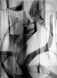 THREE SPACES for TIME - Silver gelatin print, 40 x 30in, ed. of 5 (+1AP)