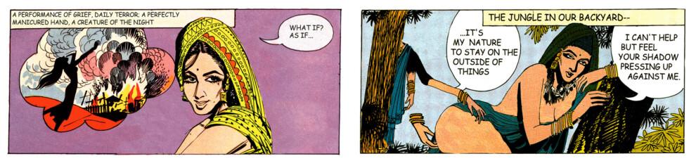 Tales of Amnesia - <i>What if/as if</i> (panel 17, <i>Tales of Amnesia</i>), 2002/07. Digital C-print, 12.5 x 31 in.