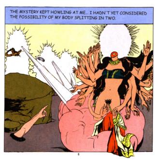 Tales of Amnesia - <i>The Mystery</i> (panel 18, <i>Tales of Amnesia</i>), 2002/07. Digital C-print, 20 x 20 in.