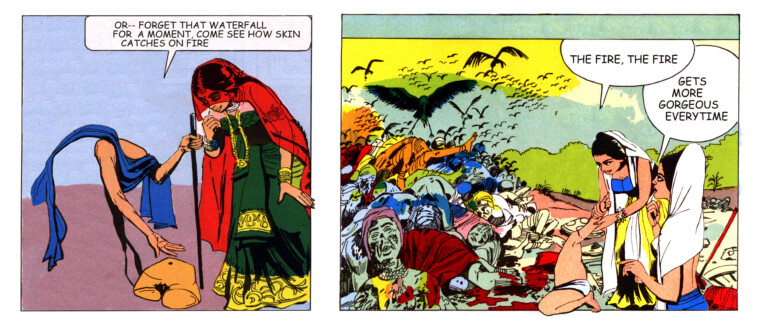 Tales of Amnesia - <i>The fire, the fire</i> (panel 20, <i>Tales of Amnesia</i>), 2002/07.