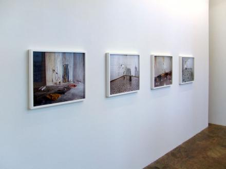 First Left, Second Right – Abhishek Hazra, Yamini Nayar, Kiran Subbaiah - Installation view, project space.