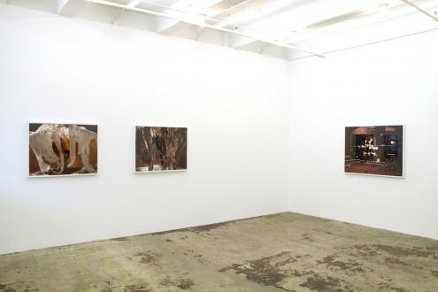Sheela Gowda, Yamini Nayar – Arrested Views - Installation view, east and south wall.