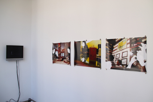 Looped and Layered – Contemporary Art from Tehran - Installation view, project space: Shahab Foutohi, Amirali Ghasemi.