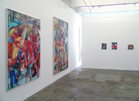 Haeri Yoo – Body Hoarding - Installation view, west and north wall.
