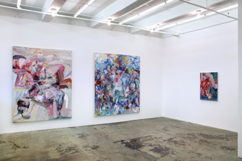 Haeri Yoo – Body Hoarding - Installation view, east and south wall.