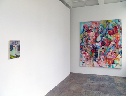 Haeri Yoo – Body Hoarding - Installation view, project space.