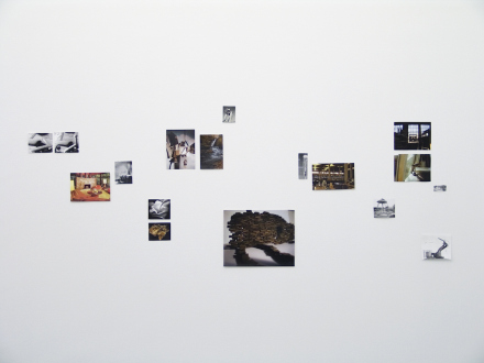 Yamini Nayar – Head Space - Installation of source material: found images and artist's photographs.