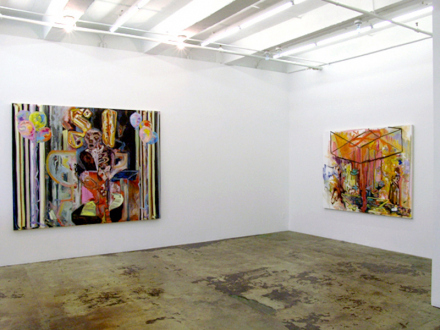 """Shanna Waddell – """"Misshapen Chaos of Well-seeming Forms!"""" - Shanna Waddell - installation view main gallery, east and south wall."""