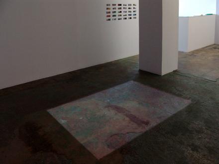 Nadia Khawaja – Drawings – Videos- Photographs - Nadia Khawaja - installation view, floor by north wall.