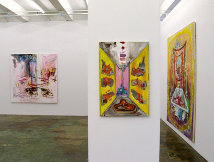 """Shanna Waddell – """"Misshapen Chaos of Well-seeming Forms!"""" - Shanna Waddell - installation view towards west wall."""