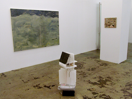 QuietlyLoud – Natasha Conway, Alisha Kerlin, Cassie Raihl - QuietlyLoud - installation view, south wall towards entrance.