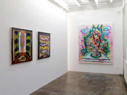 """Shanna Waddell – """"Misshapen Chaos of Well-seeming Forms!"""" - Shanna Waddell - installation view project space."""