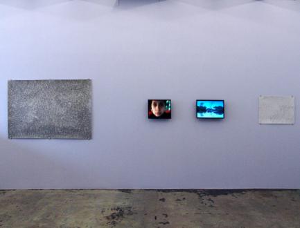 Nadia Khawaja – Drawings – Videos- Photographs - Nadia Khawaja - installation view, east wall.