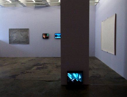 Nadia Khawaja – Drawings – Videos- Photographs - Nadia Khawaja - installation view, east and south wall.