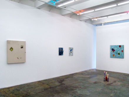 Whitney Claflin – As Long As You Get To Be Somebody's Slave, Too - Installation view, west and north wall.