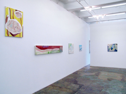 "Yuh-Shioh Wong – ""If your feet were anchored to the beach and the tide came in and covered your head, could you hold your breath until the tide went out?"" - Installation view, west and north wall."