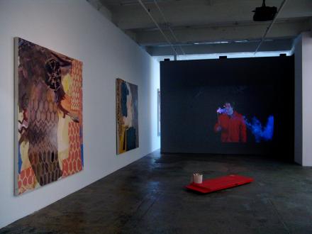That This Is – Lauren Luloff, Cassie Raihl, William Santen - Installation view, west and north wall: Lauren Luloff, William Santen, Cassie Raihl.
