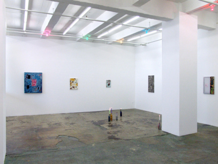Whitney Claflin – As Long As You Get To Be Somebody's Slave, Too - Installation view, east and south wall.
