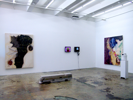 That This Is – Lauren Luloff, Cassie Raihl, William Santen - Installation view, east and south wall: Lauren Luloff, Cassie Raihl, William Santen.