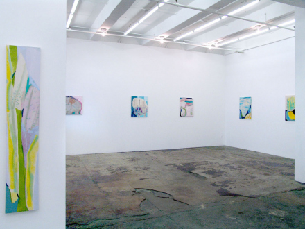 """Yuh-Shioh Wong – """"If your feet were anchored to the beach and the tide came in and covered your head, could you hold your breath until the tide went out?"""" - Installation view, east and south wall."""