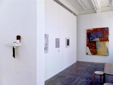 That This Is – Lauren Luloff, Cassie Raihl, William Santen - Installation view, project space: Cassie Raihl, Whitney Claflin, Adrian Piper, Lauren Luloff.