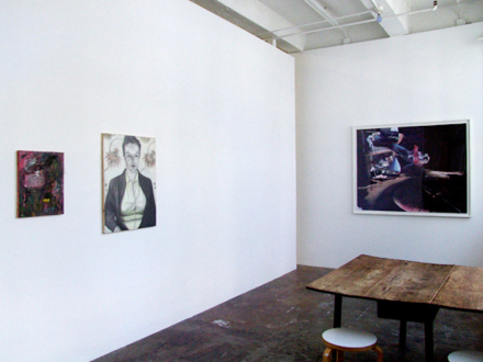 Whitney Claflin – As Long As You Get To Be Somebody's Slave, Too - Installation view, project space: Whitney Claflin, Jenny Scobel, Yamini Nayar.