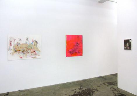 Haeri Yoo – Running Pit - Installation view, south wall.