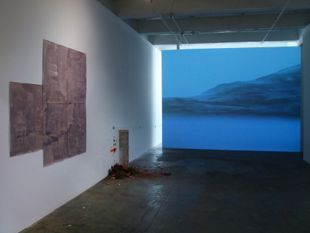 On Permanence and Change – Barry Gerson, Duy Hoang, Nandita Raman and Giovanna Sarti - Installation view, west and north wall: Giovanna Sarti, Duy Hoang, Barry Gerson.