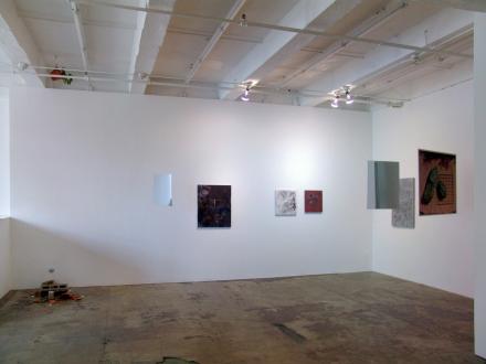 On Permanence and Change – Barry Gerson, Duy Hoang, Nandita Raman and Giovanna Sarti - Installation view, east and south wall: Duy Hoang, Giovanna Sarti, Nandita Raman.
