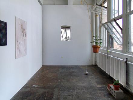 On Permanence and Change – Barry Gerson, Duy Hoang, Nandita Raman and Giovanna Sarti - Installation view, project space: Giovanna Sarti, Nandita Raman, Duy Hoang.