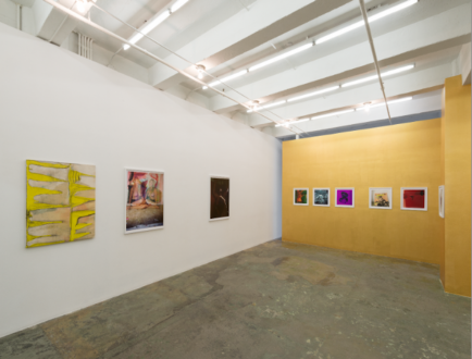 Hoar Frost – Elaine Stocki - Installation view: west and north wall