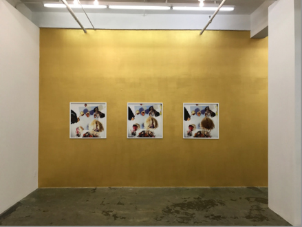 Hoar Frost – Elaine Stocki - Installation view: south wall