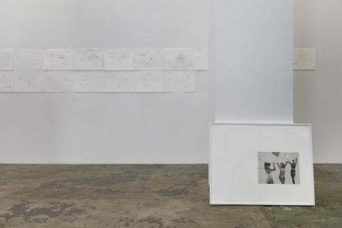 Soft Haze – Xinyi Cheng, Nabuqi, Ali Van - Installation view, south wall.