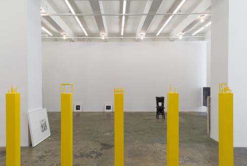 Soft Haze – Xinyi Cheng, Nabuqi, Ali Van - Installation view, west wall.