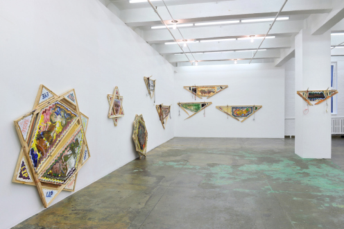 Mike Cloud – Tears in abstraction - Installation view: west & north walls