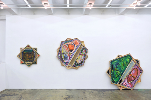 Mike Cloud – Tears in abstraction - Installation view: east wall