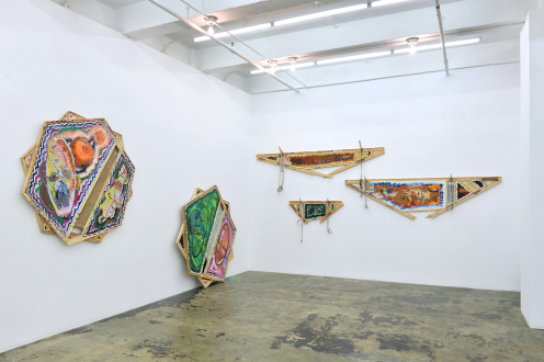 Mike Cloud – Tears in abstraction - Installation view, east and south wall.