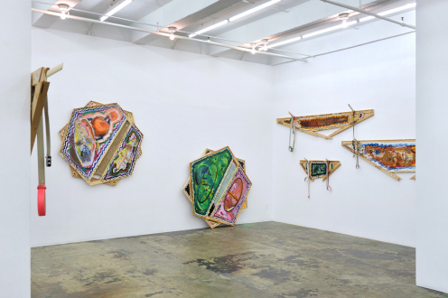 Mike Cloud – Tears in abstraction - Installation view: east wall & south walls