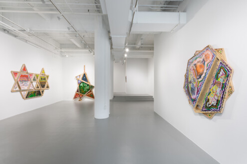 Mike Cloud - Installation view. Photo by Joseph Hu. Courtesy of the University of the Arts.