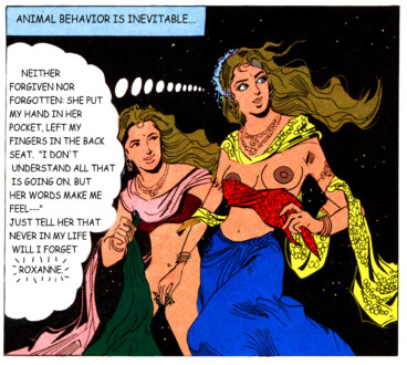 Tales of Amnesia - <i>Roxanne</i> (panel 21, <i>Tales of Amnesia</i>), 2002/07.